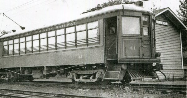 Cab 41-Bluemont Station