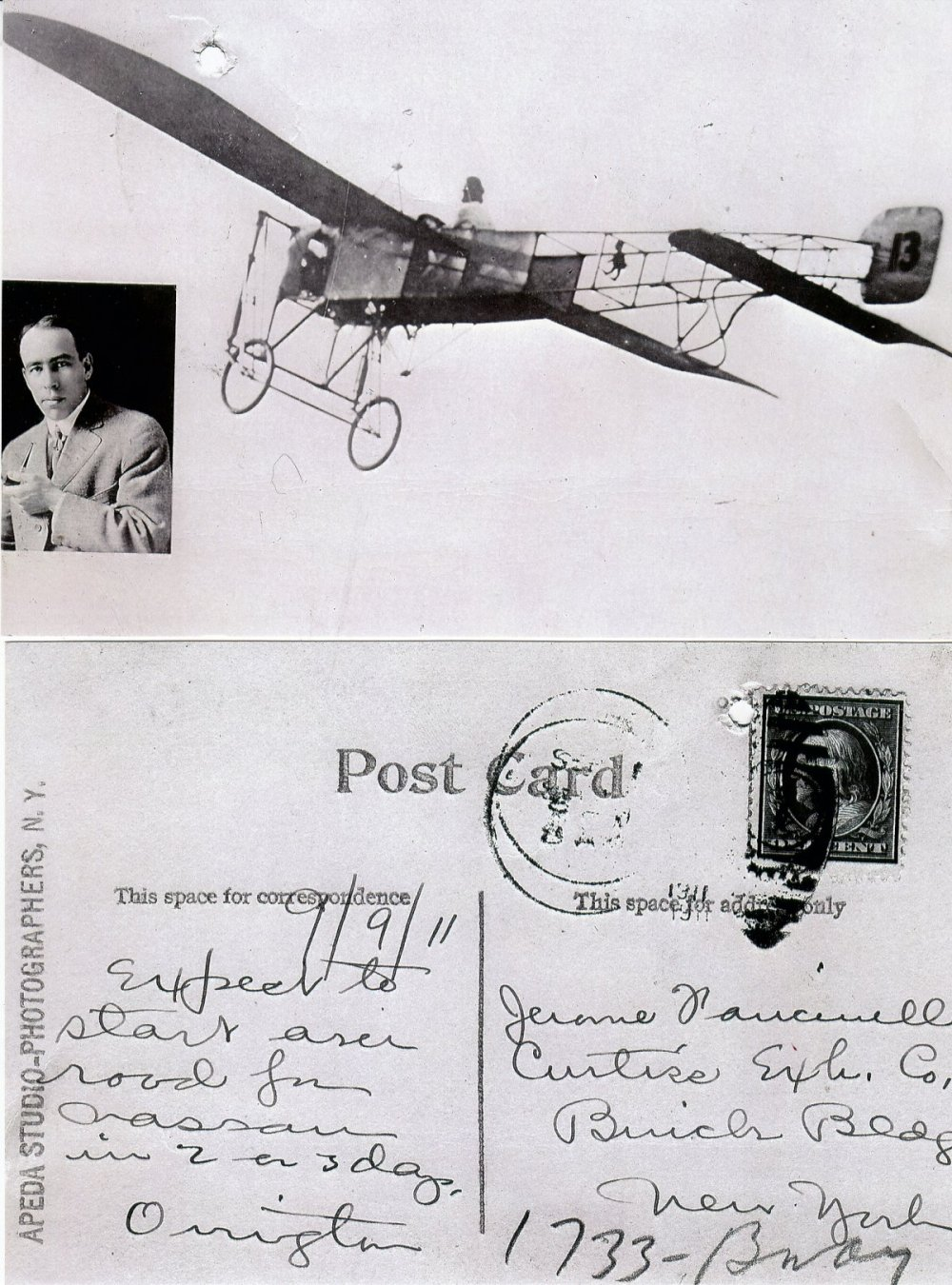 Wright Post Card 2