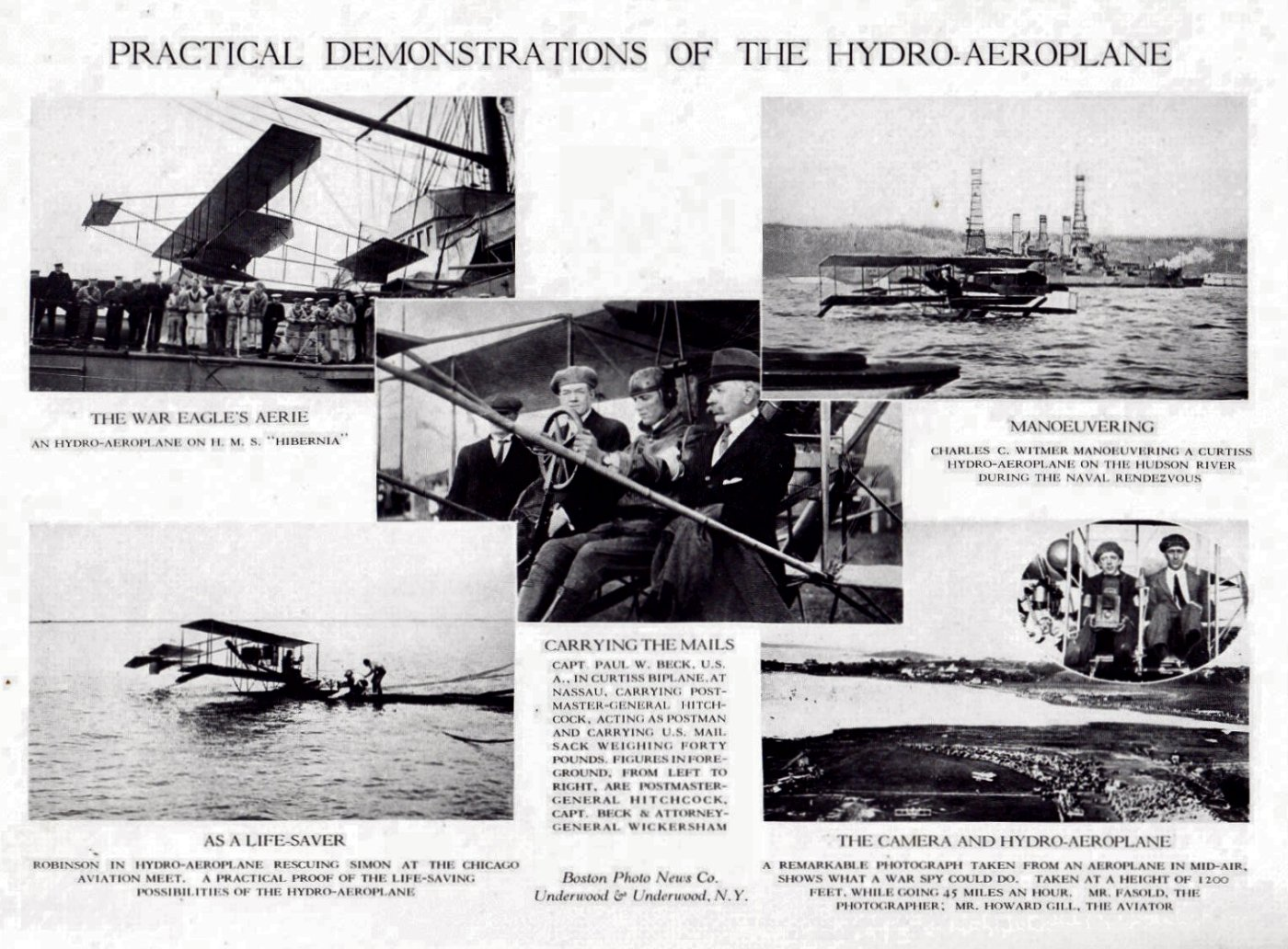 Uses of the Hydro-Areoplane