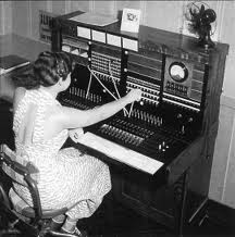 Typical small switchboard